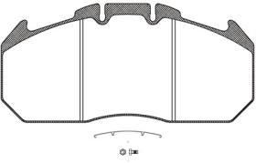 RH JSX2103430 - Juego de Pastillas de Freno D-DUCO