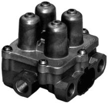 Wabco 9347142110 - Valvula Cuadruple Protección Circuito