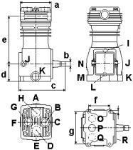 Wabco 4123520200 - COMPRESOR
