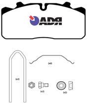 Adr 10189770 - Juego de pastillas de freno MB/ Evobus con sensor de 3 mm.