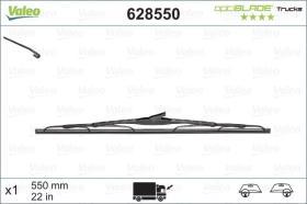 VALEO 628550 - Escobilla Limpiaparabrisas OPTIBLADE 500 MM X1