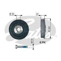 Gates TVD1002A - Amortiguador de vibraciones de torsión (Damper)