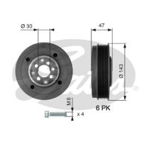 Gates TVD1014A - Amortiguador de vibraciones de torsión (Damper)