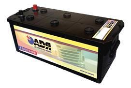 Adr ADR2204 - BATERíA TRUCK 220AH BORNES LATERALES