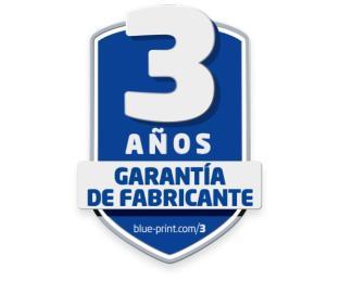 Blue Print amplia la garantía de sus productos a 3 años.